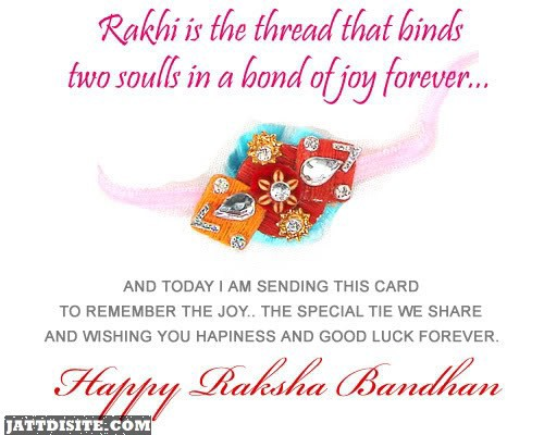 Rakhi Is The Thread That Binds Two Souls