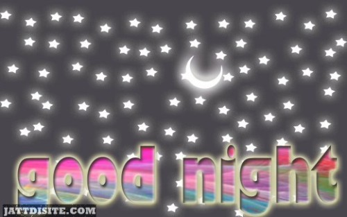 See The Stars And Say Good Night