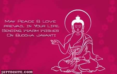 Sending Warm Wishes On Buddha Jayanti
