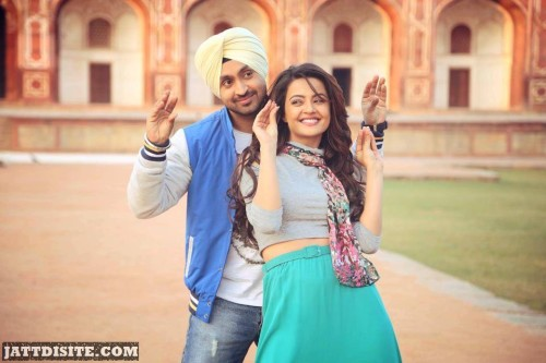 Surveen Chawla With Diljit