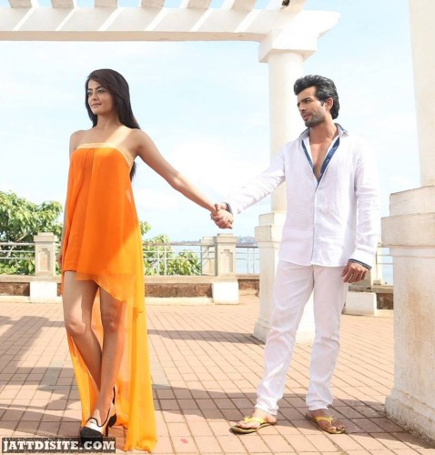 Surveen Chawla With His Co-Actor