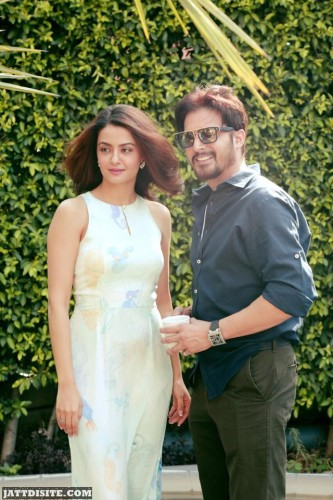 Surveen Chawla With Jimmy