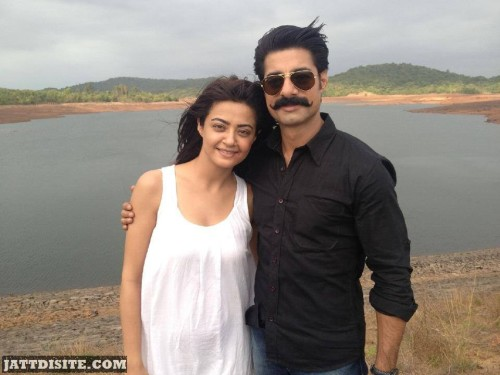 Surveen Chawla With Sushant Singh