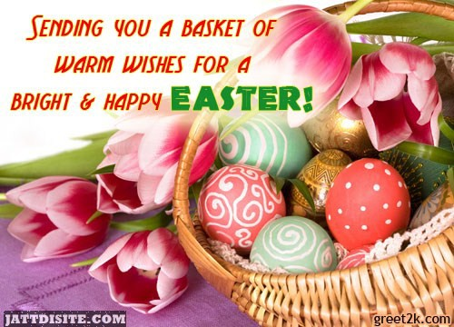 Take Blessing On Easter Day