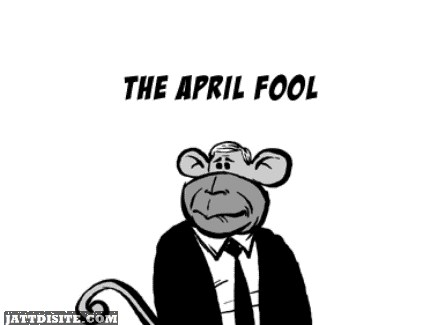 The April Fool Graphic