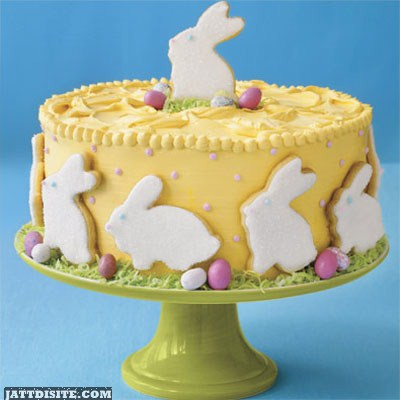 The Cake For Easter
