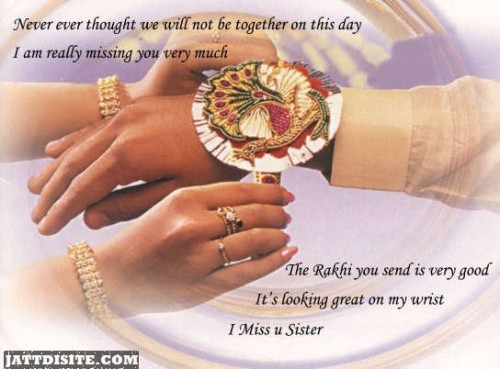The Rakhi You Send Is Very Good Happy Raksha Bandhan