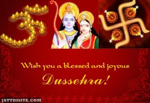 Wish You A Blessed And Joyous Dussehra