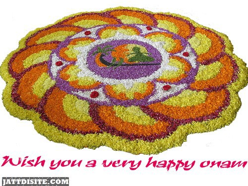 Wish You A Very Happy Onam