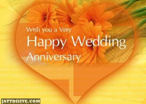 Wish You A Very Happy Wedding Anniversary