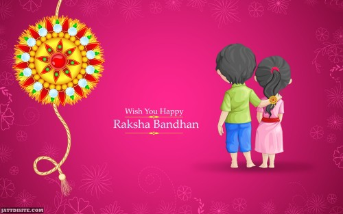 Wish You Happy Raksha Bandhan Graphic