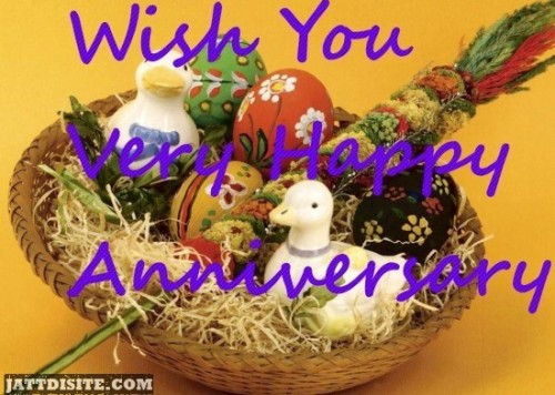 Wish You Very Happy Anniversary