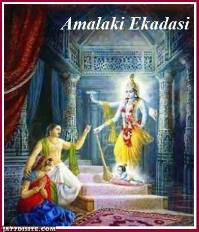 Wishing Card Of Amalaki Ekadashi