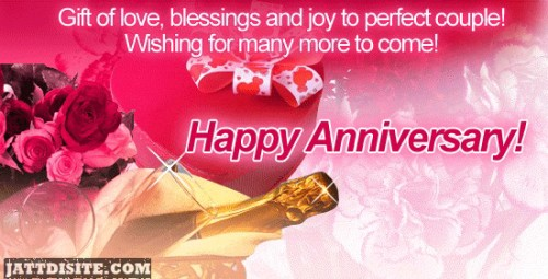 Wishing For Many More To Come Happy Anniversary