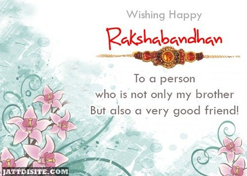 Wishing Happy Rakshabandhan