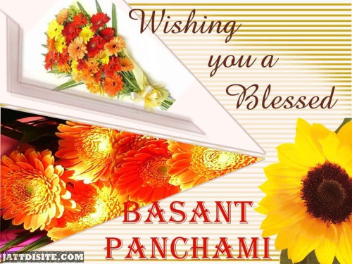 Wishing You A Blessed Basant Panchami