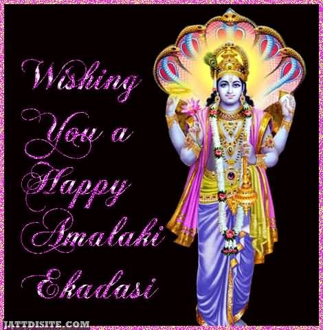 Wishing You A Happy Amalaki Ekadasi