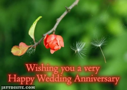Wishing You A Very Happy Wedding Anniversary