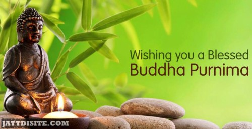 Wishing You Blesses Buddha Purnima