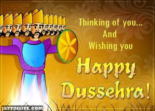 Wishing You Happy Dussehra Picture