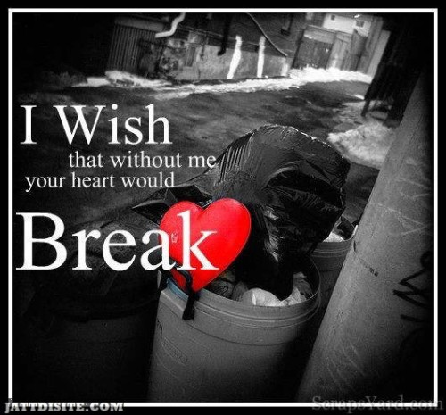 Without Me Your HeartWould Break