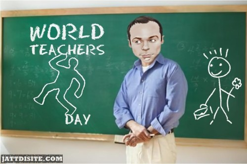 World Teachers Day Animated Graphic