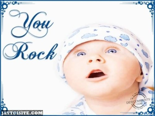 You Rock Baby Graphic