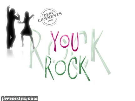 You Rock Dancing Animated Graphic