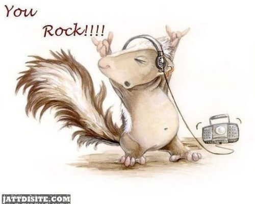 You Rock Mouse Graphic1