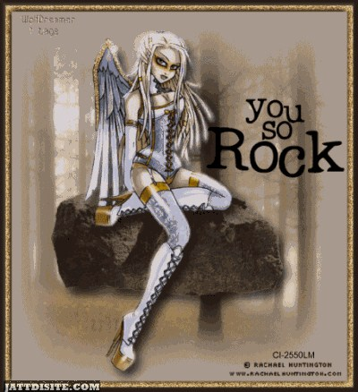 You So Rock Angel Graphic