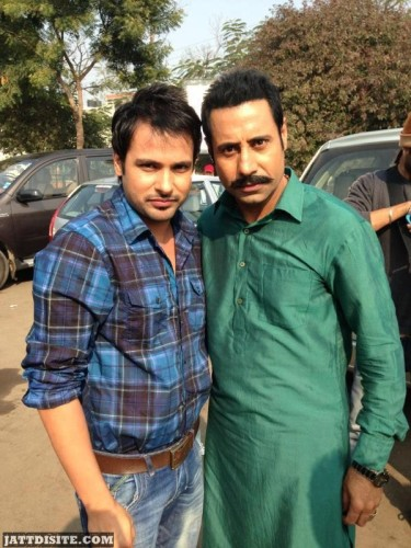 Binnu Dhillon With Amrinder Gill