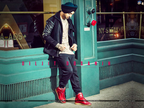 Diljit Dosanjh In Cool Boots