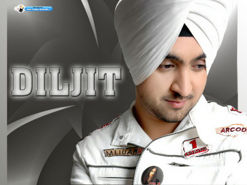 Diljit Dosanjh In White Jacket