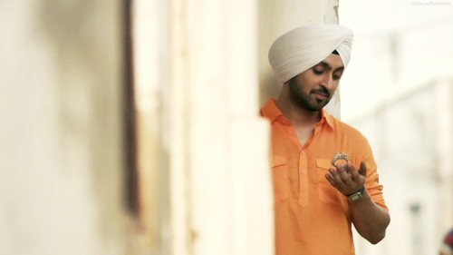 Diljit Dosanjh In White Turban