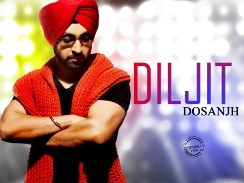 Diljit Dosanjh Looking Great