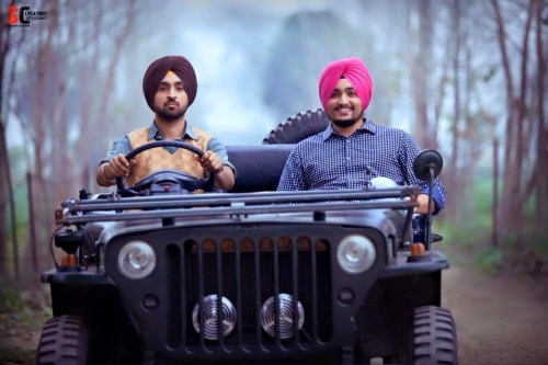 Diljit Dosanjh On Jeep