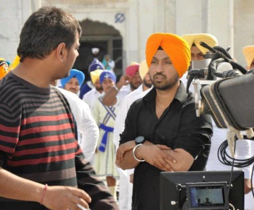 Diljit Dosanjh On Movie Set