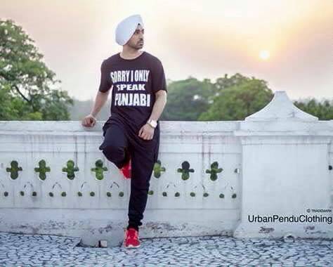 Diljit Dosanjh On Terase
