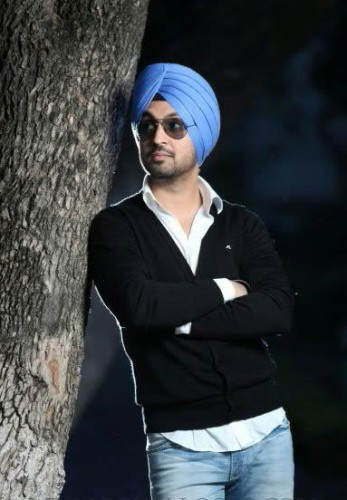 Diljit Dosanjh Standing With Tree