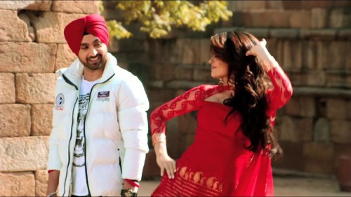 Diljit Dosanjh With A Sweet Girl