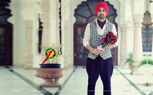 Diljit Dosanjh With Roses