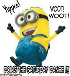 Doing The Saturday Dance