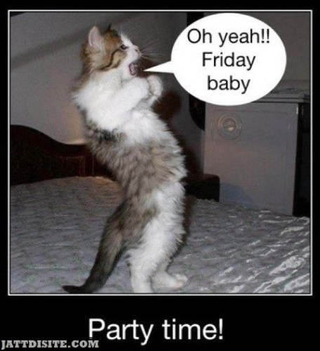 Friday Time Party Time