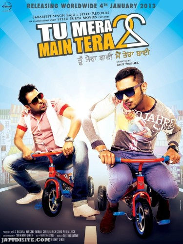 Funny Picture Amrinder AND Honey singh