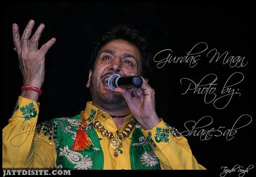 Gurdas maan  Live At Stage
