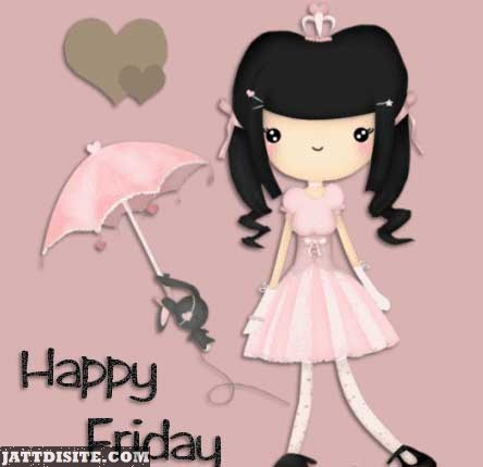 Happy Friday With Cute