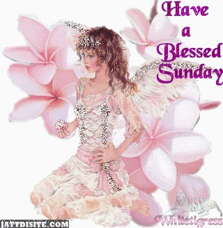 Have A Blessed Sunday With Glitters