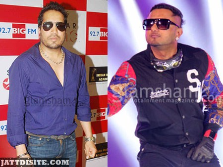 Honey Singh with mika