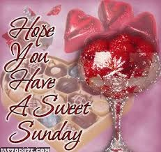 Hope U Have A Sweet Sunday