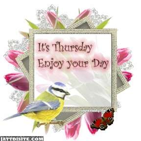 Its Thursday Enjoy Your Day